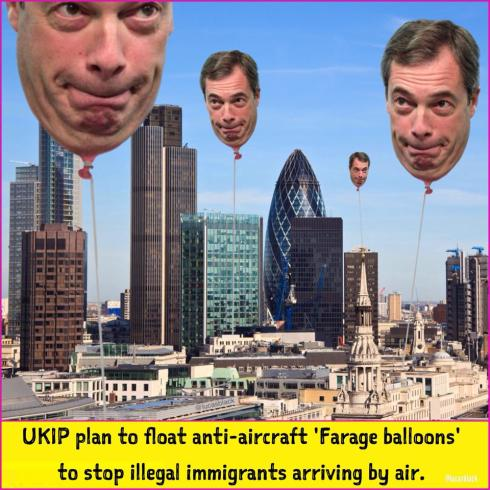 Farage Balloon